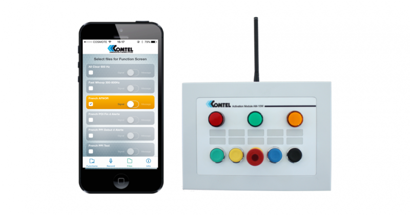smart phone wireless actication panel