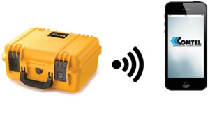Comtel PORTABLE ELECTRONIC SIREN with Bluetooth Connectivity