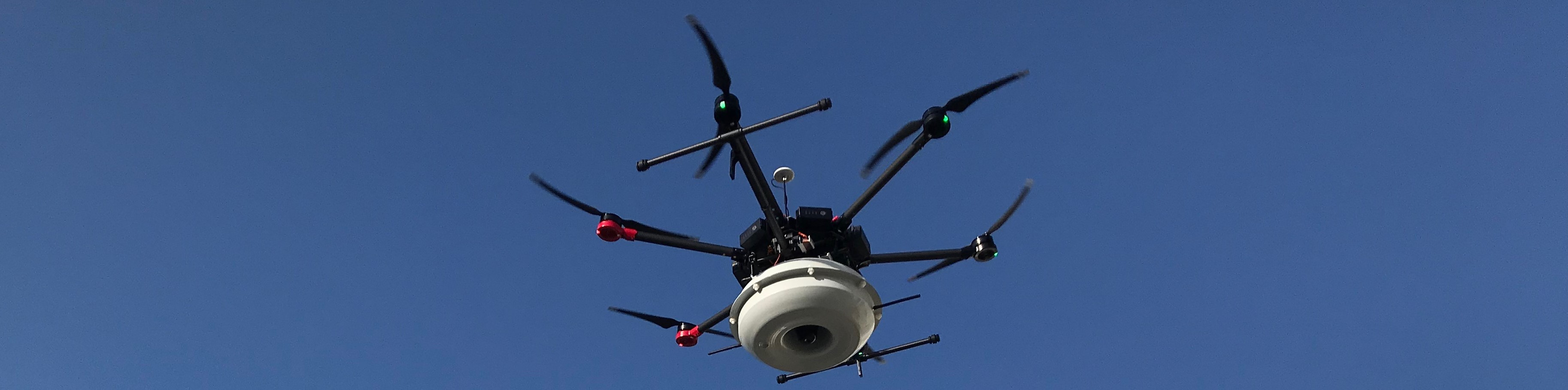 Drone Electronic Siren wide sky