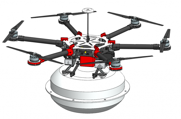 Drone Electronic Siren 3D